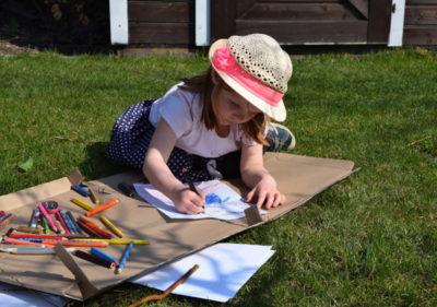 Ogród dla dzieci miejsce do zabawy