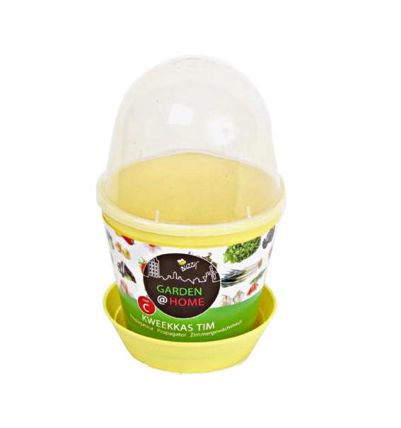 szklarenka z wentylacją jajko doniczka z podstawką i przezroczystą pokrywką z wywietrznikiem