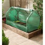 inspekt szklarnia do uprawy sadzonek i wrażliwych roślin, chroni przed mrozem, przyspiesza uprawę, wentylowana