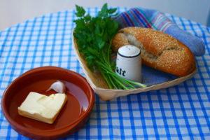 Składniki do masła ziołowego