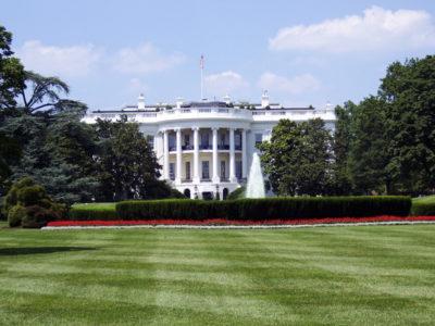 Trawnik reprezentacyjny przed Białym Domem