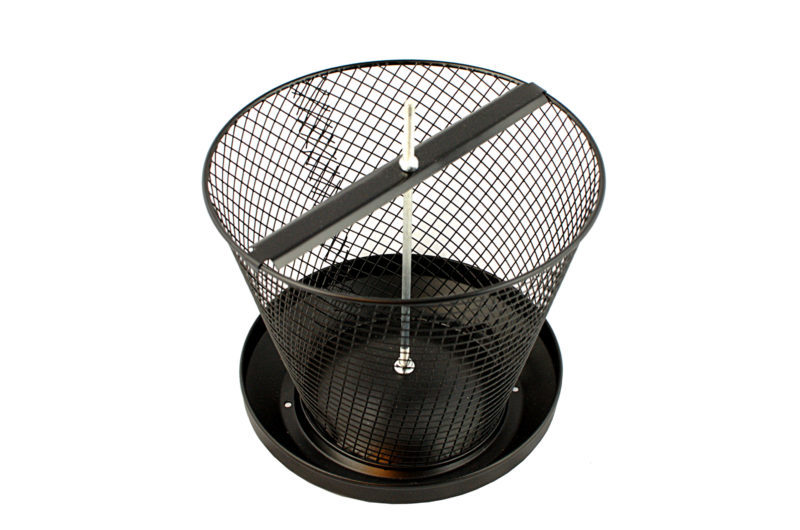 karmnik na orzechy metalowy z zasobnikiem duża pojemność
