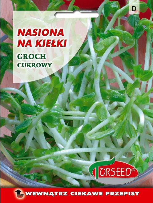 groch cukrowy nasiona na kiełki Torseed 50g