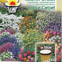 Niskie kwiaty jednoroczne nasiona na macie Kwietny Dywan