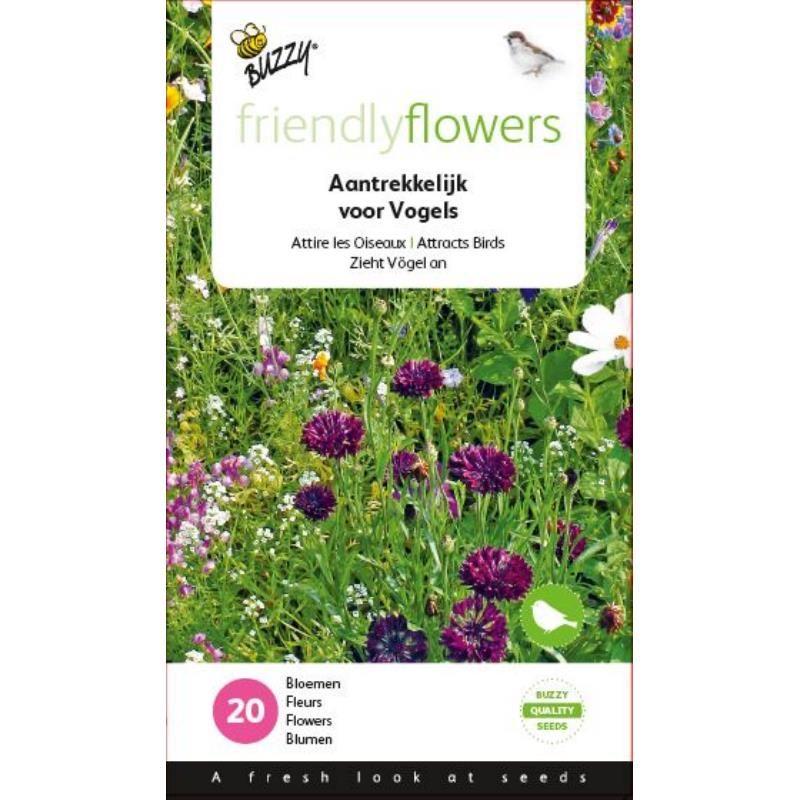 Nasiona kwiatów dla ptaków