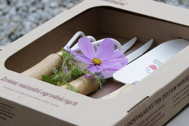 Narzędzia ogrodnicze zestaw prezentowy