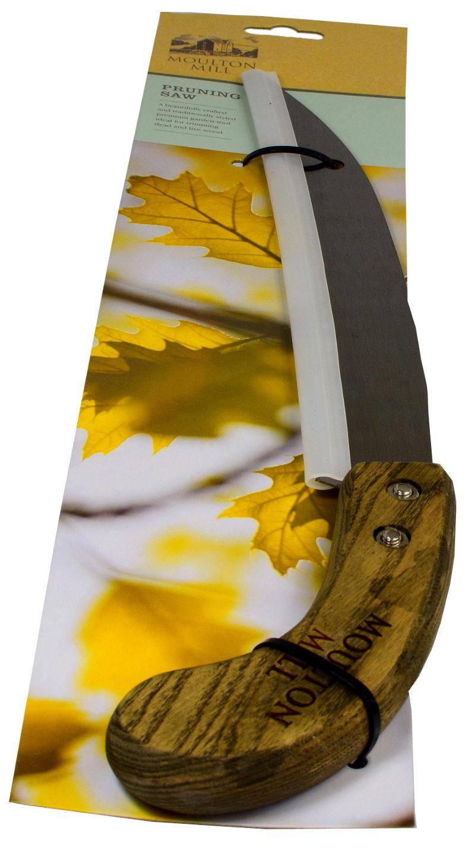 Piła ręczna angielska 45cm opakowana z drewnianą rękojeścią opakowanie