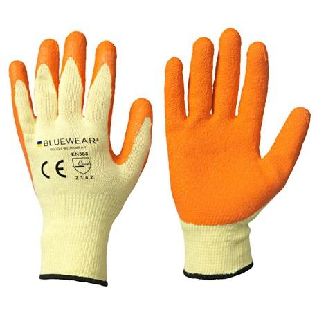 Rękawice ogrodowe lateksowe rozmiar 10