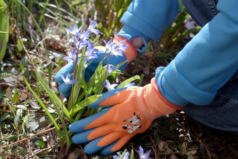 Rękawice ogrodowe dla dziecka