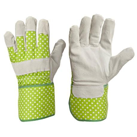Rękawice ogrodowe ze skóry