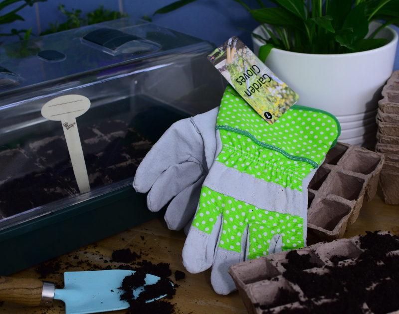 Skórzane rękawice aranżacja