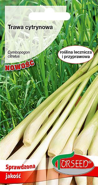 trawa cytrynowa nasiona trawy cytrynowej
