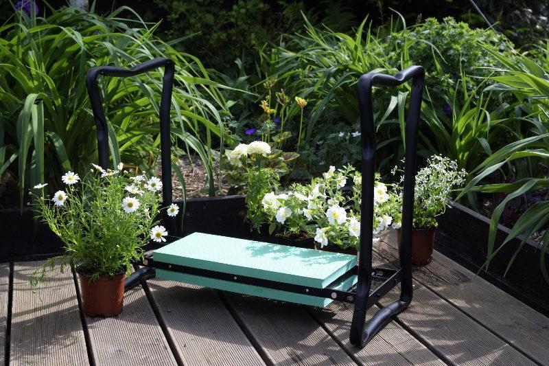 klęcznik ogrodowy piękny taras