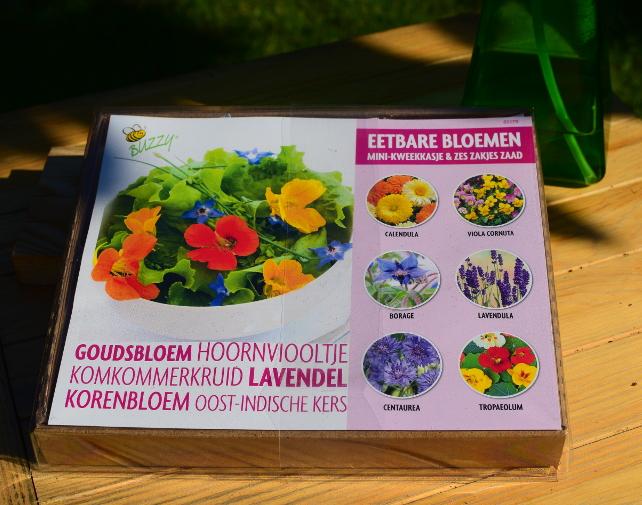 Zestaw do uprawy kwiatów jadalnych