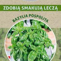 bazylia pospolita nasiona opakowanie z trawy