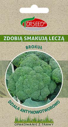 brokuł nasiona opakowanie z trawy