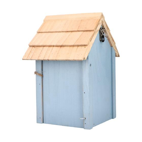 Kolorowy domek dla ptaków