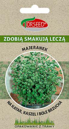 majeranek nasiona opakowanie bio