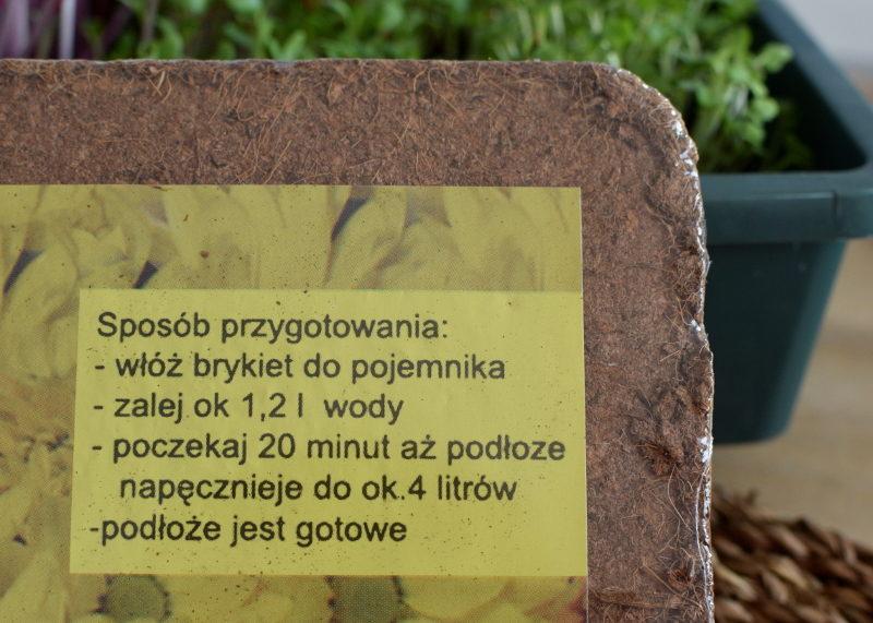 Podłoże kokosowe instrukcja obsługi