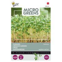 Nasiona rzeżuchy na mikroliście