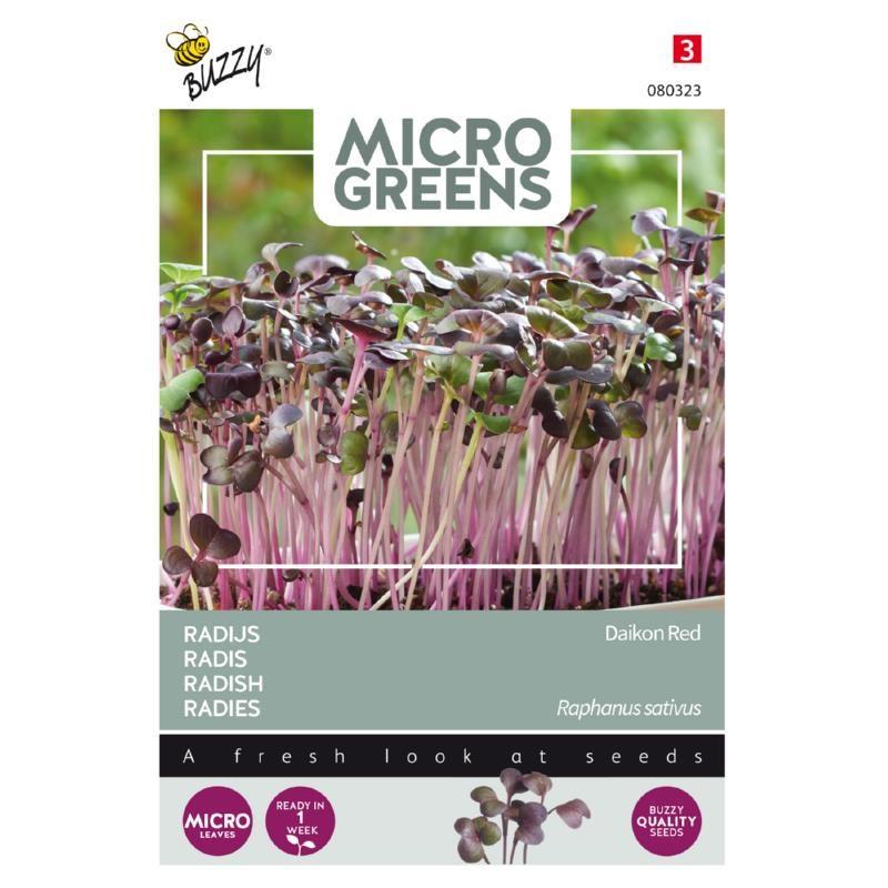 Nasiona rzodkiewki na mikroliście 5g