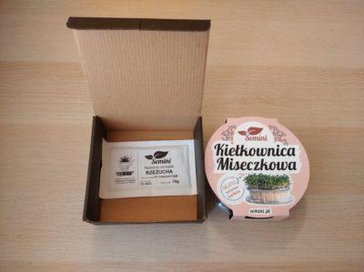 Pudełko na kiełkownicę miseczkową