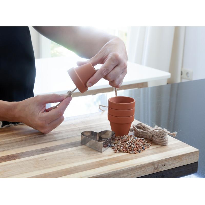 Jak zrobić karmnik dla ptaków z doniczki