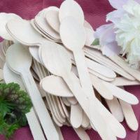 Drewniane łyżki z brzozy