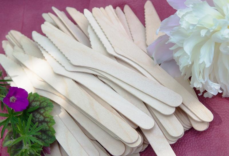 Drewniane noże z brzozy