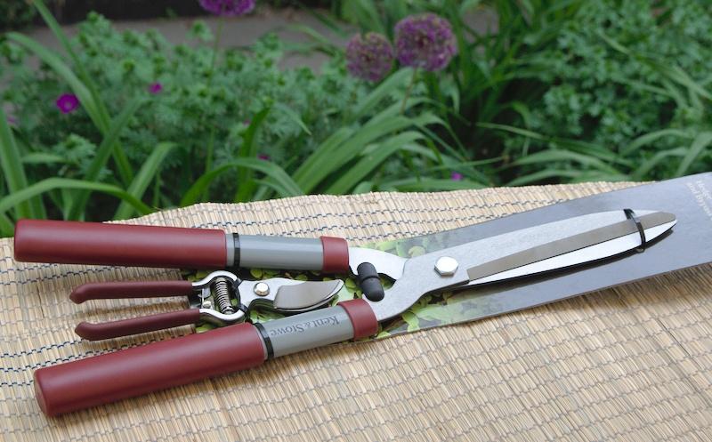Angielskie nożyce do żywopłotu