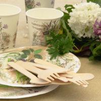 Ekologiczne naczynia na piknik
