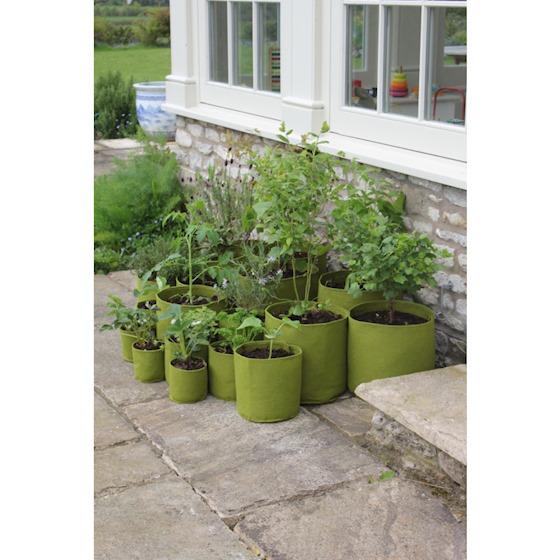 Pojemniki filcowe do sadzenia roślin