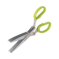 Nożyczki do ziół to wiele ostrzy siekających jednocześnie
