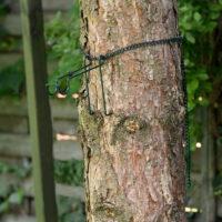 hak do montażu na drzewie budek