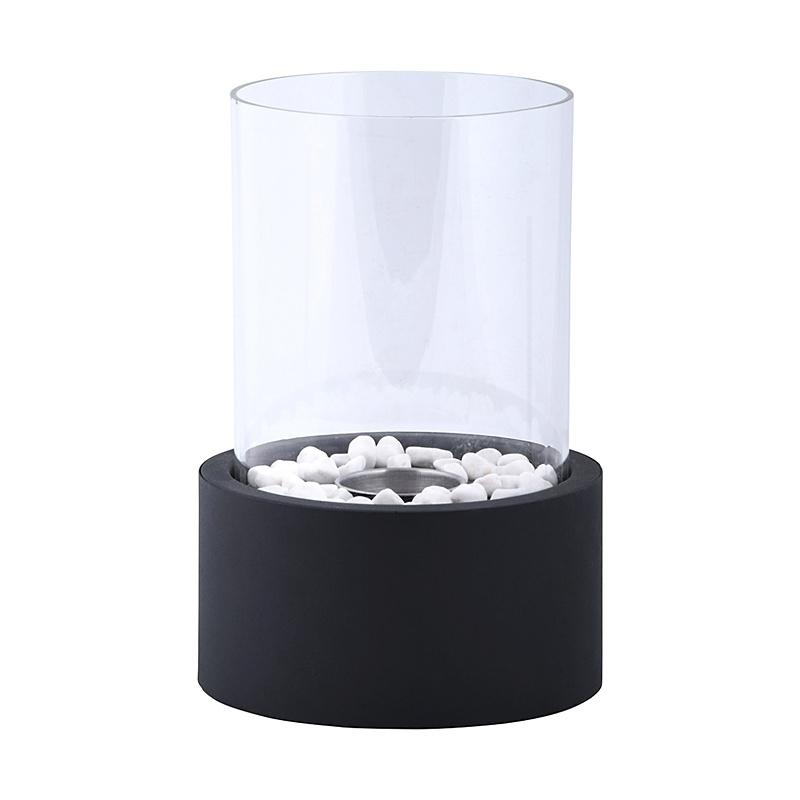 Biokominek okrągły do stawiania na stole lub blacie