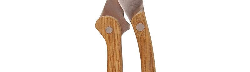 Sekator z drewnianymi rączkami
