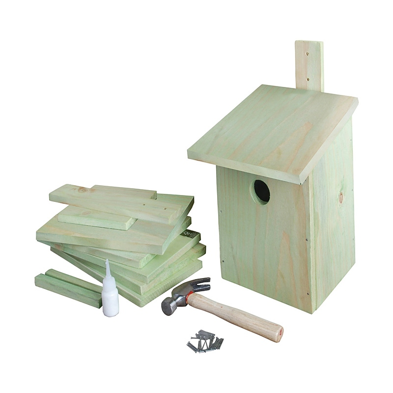 Budka dla ptaków do składania DIY